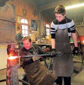 Artisans Ferronnerie passation métier