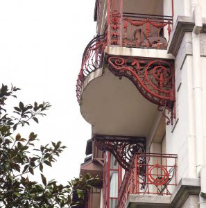 Balcon ferronnerie