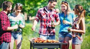 Barbecue avec les amis