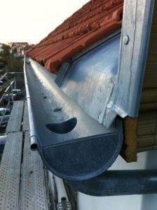 Zinguerie toit maison